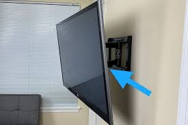 should a wall mounted tv be tilted