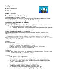 Early Explorers Chart Early Explorers Lesson Plan For 5th Grade Lesson Planet