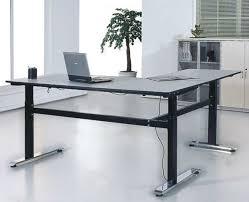 steel leg computer desk office desking system computer table design