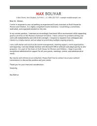 Office Assistant Cover Letters Best Administrative Assistant Cover