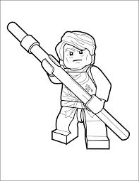 LEGO Ninjago Sensei Coloring Pages (Page 1) - Line.17QQ.com