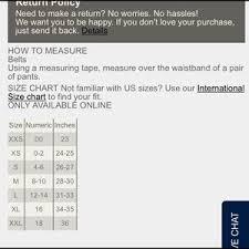 Ae Size Chart Ae Belt