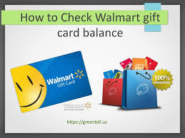 how to check walmart gift card balance