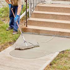 resurfacing a sidewalk is easy to diy
