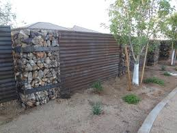 corrugated steel fence the contractor contacted s and later applied our steel two weeks later corrugated steel fence