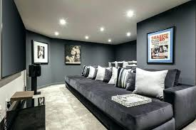 living room contemporary with large suede gray sofa dark gray living room sparkling decor ideas