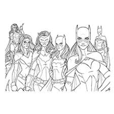 Small Picture 10 Beautiful Free printable Batgirl Coloring Pages Online