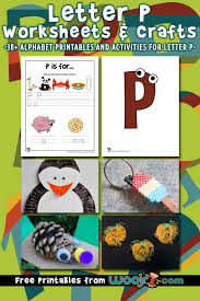 Practice writing the letter p in uppercase and lowercase. Letter P Worksheets Crafts Woo Jr Kids Activities