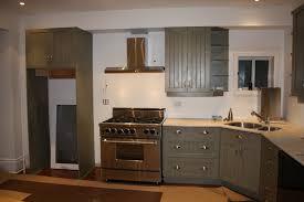 ... Astounding Kitchen Decoration Ideas Using Corner Kitchen Sinks :  Awesome L Shape Kitchen Decoration Using Grey ...