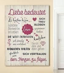 Mdf Wandbild Spruch Weisheiten Liebe Bedeutet Dekoration Bild Tafel