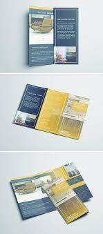 Fold Flyer Tri Fold Brochure Free Indesign Template