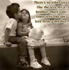 Brother Quotes There's No Other Love Like The Love For A Brother Inspiration No Love Quotes