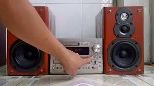 Dàn âm thanh mini nhật nội địa DENON DMX5500DV quá mạnh KHÁNH HƯNG AUDIO  SÀI GÒN - YouTube