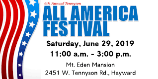 American Flag Website Background 6th Annual Tennyson All America Festival 2019 City Of