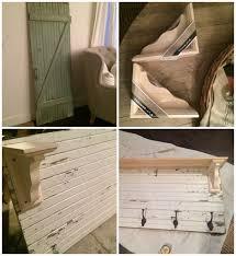 diy rustic entryway coat rack liz