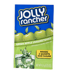 jolly rancher green apple unsweetened