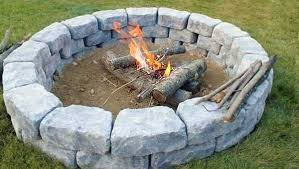 easy to build fire pit easy fire pit lovely home landscaping ideas do it yourself landscaping easy to build fire pit