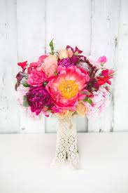 peony protea roses clematis wedding bells magazine most beautiful bouquets