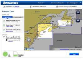 Navionics Sonarcharts Now Via Sonarphone Or Gpx File Plus