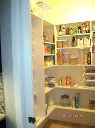 pantry shelf depth can storage walk in corner