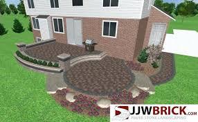 raised paver patio collection in brick patio ideas raised brick patio design amp installation chesterfield mi raised paver patio