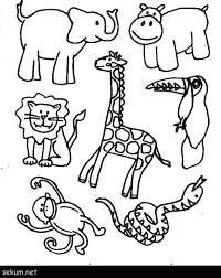 Animal Coloring Jungle Coloring Pages Free Mayhemcolor Co