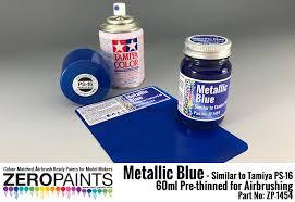 Metallic Blue Paint Similar To Ps 16 60ml Zp 1454 Zero