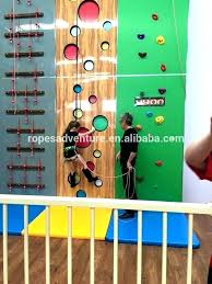 kids climbing wall toddler gym diy for best rock walls ideas on room decor climbing wall outdoor diy for kids