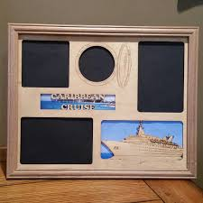 11 14 caribean cruise vacation laser engraved picture frame