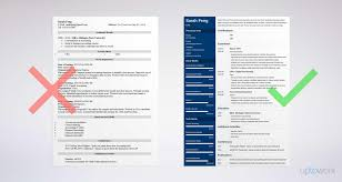Resume Examples For Accounting Accounting Resume Sample and Complete Guide 60 Examples 19