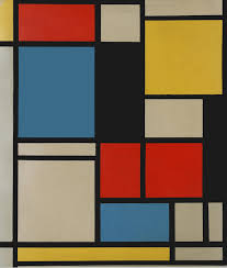 piet mondrian composition with red yellow and blue 1921 szukaj w google