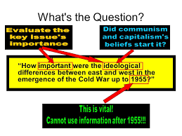 origins of the cold war essay plan ppt video online  origins of the cold war essay plan 2 cannot
