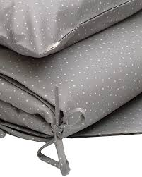 numero 74 duvet cover set 100x140 cm star silver grey duvet sets