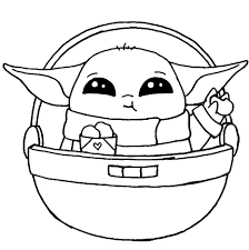 Yoda coloring pages to pr… printable yoda mask templ… print out lego star wars … Baby Yoda Coloring Pages Free Printable Wonder Day