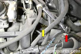 mercedes benz slk 230 crankshaft positioning sensor replacement it is a good idea to remove the sensor the wiring harness attached
