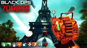 worlds first black ops  custom zombies map  eiffel tower