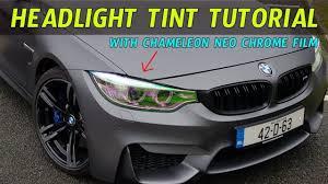 Car Light Film How To Install Headlight Tint Film With Our Diy Pov Tutorial
