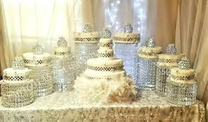 chandelier cake stand factor the yummiest