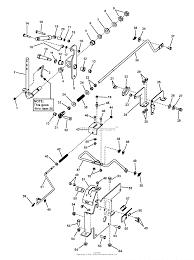 Simplicity 2690476 javelin 20hp kohler rider w38 mower parts diagram park brake group 7500061 simplicity 2690476 javelin 20hp kohler