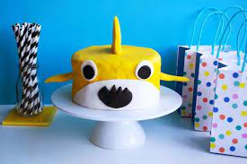 baby shark cake recipe kidspot