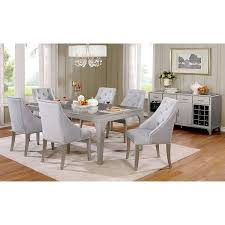contemporary mirrored furniture. Mirrored Dining Room Set Beautiful Amazon Furniture Of America Selano Contemporary  Multi Contemporary Mirrored Furniture
