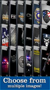 police themes backgrounds wallpaper lock screens on the app