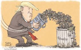 Image result for caricature trump afghanistan war