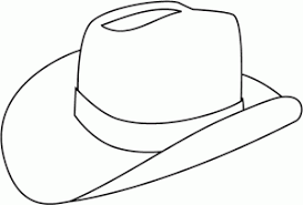 Small Picture cowboy hat printable coloring page Coloring Point