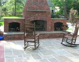 outdoor brick fireplace plans backyard brick fireplace plans a triple chimney stacked anchors this outdoor fireplace brick oven plans