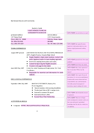 Example Of Bad Resume Resume For Your Job Application