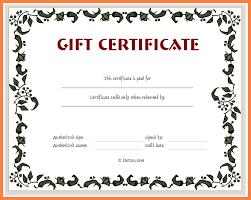 5 Free Online Printable Blank Gift Certificates Andrew Gunsberg