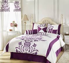 Purple And White Bedroom Purple And White Bedroom Home Planning Ideas 2017