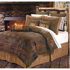 western comforter sets cowboy bedding ranch barbwire chocolate 15