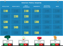 Online Quiz Templates Jeopardy Rocks Create an online jeopardy game in minutes It's free 90